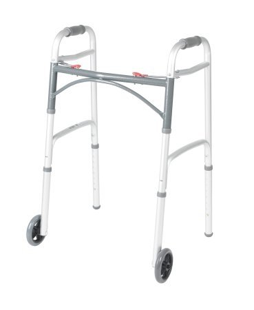 McKesson Adult Aluminum Folding Walker - 1 Each / Each - 62113800