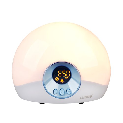 Lumie Bodyclock Starter 30 Wake-Up Light Alarm Clock with Sunrise and...