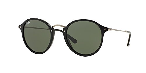 Ray-Ban Unisex RB2447 49mm Black/Green - Ray Ban Spectacles