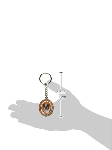 Bulldog-Key-Chain-Spinning-Pet-Key-ChainsDouble-Sided-Spinning-Center-With-Bulldogs-Face-Made-Of-Heavy-Quality-Metal-Unique-Stylish-Bulldog-Gifts