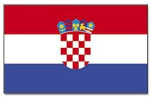 Tamaño-bandera: Croacia 150 cm x 250 cm: Amazon.es: Deportes y ...