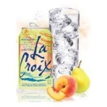 Lacroix Peach Pear Sparkling Water, 12 Fluid Ounce Can - 24 per case. ()