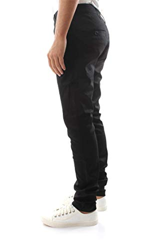Noir Chino star Pantalon Homme Bronson G Skinny Raw 0Aqw6Z