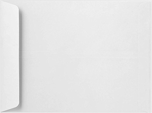 11 1/2 x 14 1/2 Open End Envelopes- 28lb. White (50 Qty.) | Perfect for Sending Letters, Invoices or Statements | 4166-50