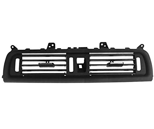 Exerock Air Vent Conditioning Front Interior Central Air Grille Fit for BMW 5 Series 520, 523, 525, 528, 530, 535, 550 F10/F11 2010-2016