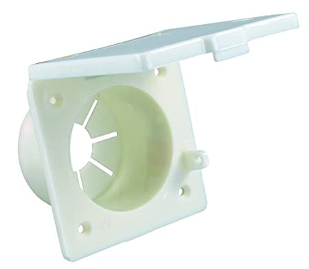 JR Products S-20-14-A Colonial White Square Electrical Hatch