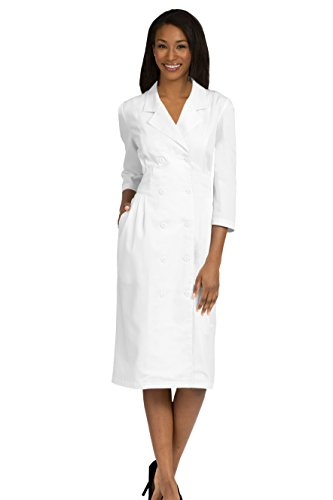 Med Couture Women's Peaches Natalie Dress, White, 20 by Med Couture