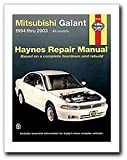 Mitsubishi Galant 1994 thru 2012: All models (Haynes Repair Manual)