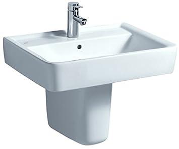 Bevorzugt Keramag Waschtisch Renova Nr.1 Plan 65x48cm, weiß, 222265000 BP09