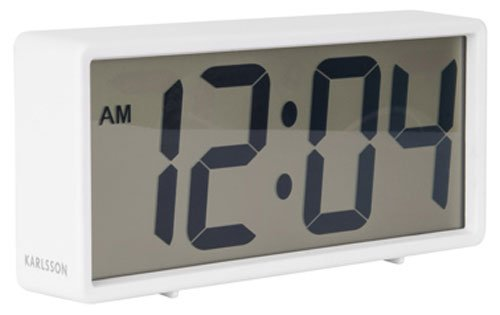 Karlsson Table Clock, White, One Size