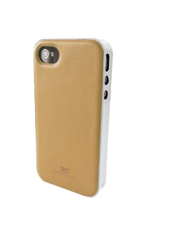 Carryingmate Industries USA CMT70031 Rawhide Slide-N-Go Case for iPhone 4/4S - 1 Pack - Retail Packaging - Brown