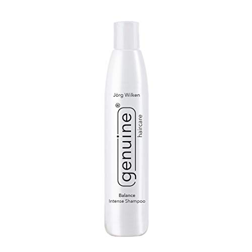 genuine haircare Balance Intense Shampoo gegen fettiges Haar und schuppiger Kopfhaut, für alle Haartypen, entzündungshemmend, für sensible Kopfhaut, 250ml