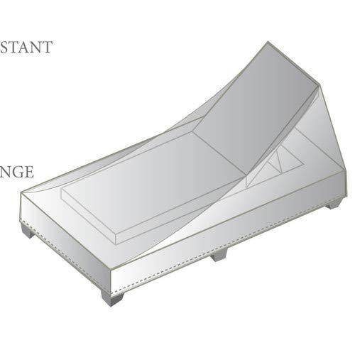 Jur_Global Outdoor Protective Chaise Lounge Cover