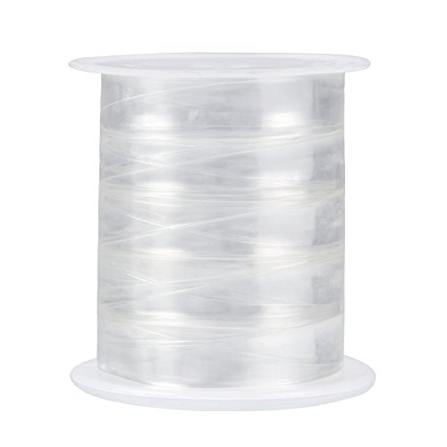 Sumind 10 Meters Clear Elastic Stretchy Lightweight Elastic for Cloth Sewing Project