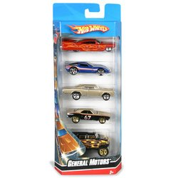 Amazon.com: 5-Car Gift Pack:Hot Wheels: General Motors: Toys & Games