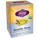 Yogi Yogi Tea- Breathe Deep , 16 Bags NA (Pack of 3)