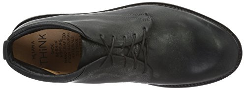 Think Oida Light, Zapatillas de Estar por Casa para Hombre Negro - Schwarz (Schwarz 00)
