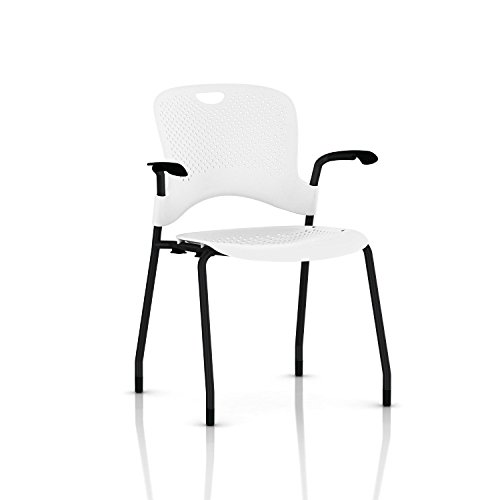 Herman Miller Stackable Caper Chair: Molded Seat - Fixed Arm