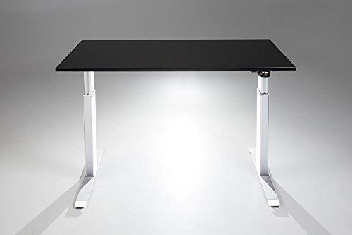 FlexTable Electric Standing Desk w/ White Frame (Medium 24\
