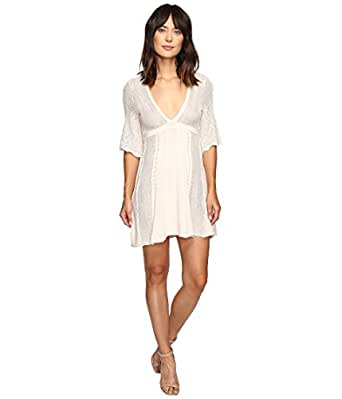 Free People Women's Find Your Love Sweater Dress Ivory X-Small