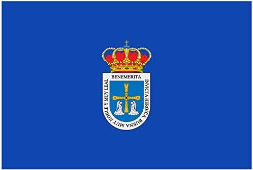 magFlags Bandera Large La Ciudad de Oviedo España | Bandera ...