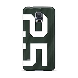 High Quality Hard Cell-phone Cases For Samsung Galaxy S5 (irC12236GFIj) Support Personal Customs Colorful Green Bay Packers Image