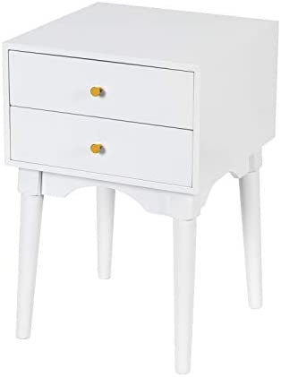 White Nightstands Side Tables Sofa End Table