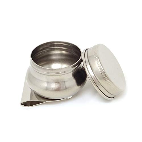 Honbay Stainless Steel Large Mouth Single Dipper Pallete Cup ()