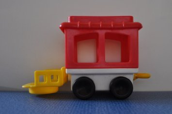 Vintage Little People Train Caboose 1991 Retired Replacement Figure - Fisher Price Zoo Doll Circus Ark Toy Pet Shop (Circus Caboose)