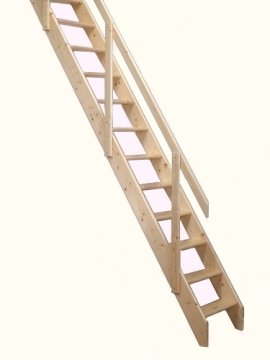 Deluxe Space Saver/Saving Staircase Suits Floor To Upper Floor Heights Of  Up To 2.83