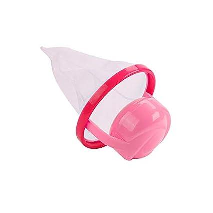 Rosa 2 MongKok Floating Pet Fur Catcher Filtrado Depiladora Lavadora lavander/ía Herramienta de Limpieza