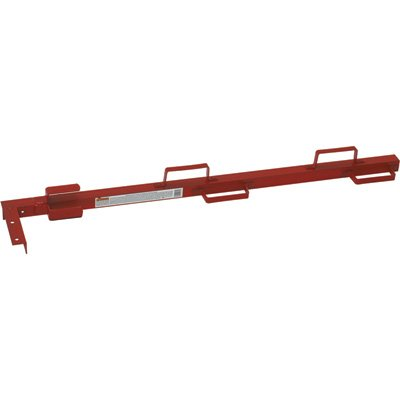 (Qualcraft Ultra Jack Scaffolding System - Guard Rail for Staging Bracket, Model# 2301)