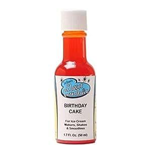 Amazon LorAnn Birthday Cake Flavor Fountain Ice Cream