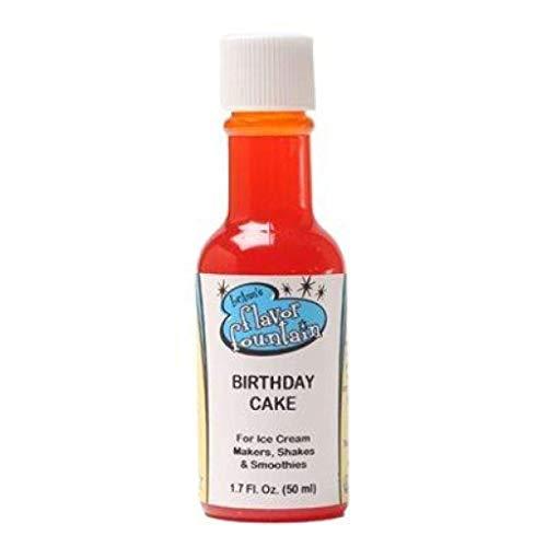 LorAnn Birthday Cake Flavor Fountain Ice Cream Flavoring, 1.7 Ounce