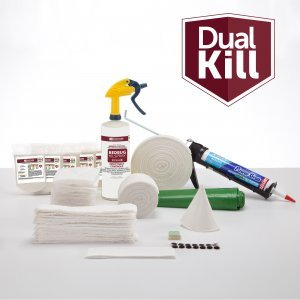 Dual Kill Bedbug Emergency Response Kit, inludes Twin XL Fitted Box Spring & Mattress Wrap by Blockhouse Dual Kill