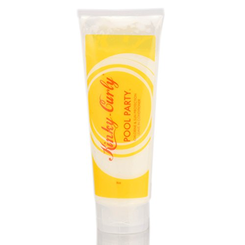 Kinky-Curly Pool Party Leave In Conditioner 8oz