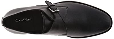 Calvin Klein Men's Norm Diamond Perf Monk Strap