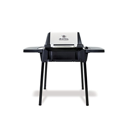 Broil King 950654 Porta-Chef 120 Portable Gas Grill, 3-Burner, Stainless Steel & Black