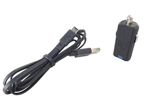 Car Charger for Headsets with Bonus USB Cable for BlueParrott, Plantronics, VXI, Jabra, GN, GN Netcom Gn Netcom Cables