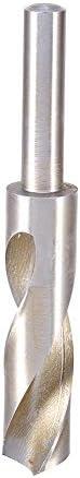 22mm Tip Durchmesser 4241HSS High Speed Stahl Schmiede Twist-Bohrer Bit 1/2gerade Schaft Bohren Loch Werkzeug