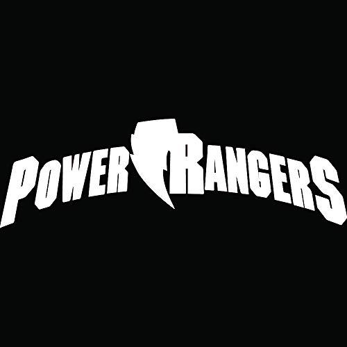 Power Rangers (White) (Set of 2) Premium Waterproof Vinyl Decal Stickers for Laptop Phone Accessory Helmet Car Window Bumper Mug Tuber Cup Door Wall Decoration