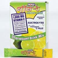 NOW Foods - Effer-C Lemon-Lime 30 Packet(s) (Pack of (Lemon Lime Energy Immune Support)