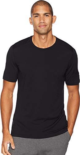 - Icebreaker Merino Men's 200 Oasis Short Sleeve Crew Neck Shirt, Black, Large