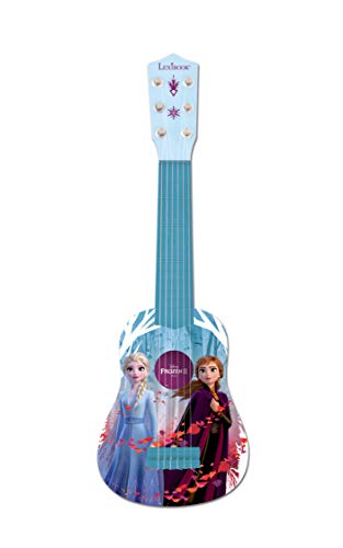 Disney Lexibook Frozen Elsa My First Guitar for Children, 6 Nylon Strings, 21'' Long,  Guide Included, Blue / Purple, K200FZ (Disney Frozen Acoustic Guitar By First Act)