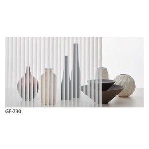 ストライプ 飛散防止 ガラスフィルム サンゲツ GF-730 92cm巾 6m巻 B07PD9MKBQ