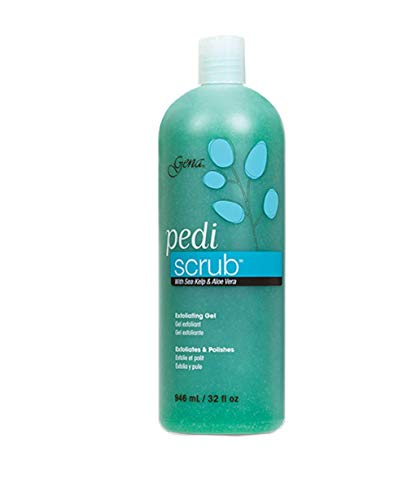 Pedicure Exfoliating Foot Scrub - Gena Pedi-Scrub Gel 32 oz