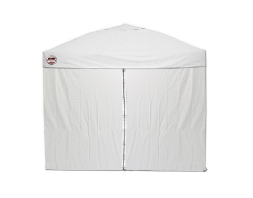 Quik Shade 10'x10' Instant Canopy Wall Panel Set with Zipper Entry (Weekender Canopy)