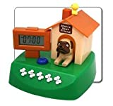 Man's Best Friend DOG House Novelty Barking Alarm Clock Digital