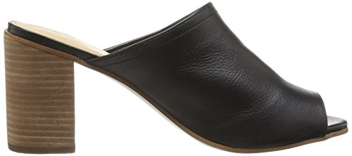 Black Heeled Leather Sandal Dorthy B 7 US Aldo 5 Women EqwIW1vPBH