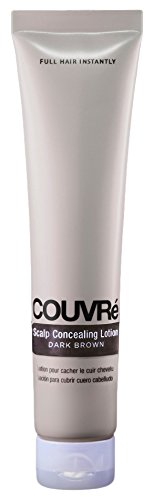 TOPPIK Couvre Scalp Concealing Lotion, Dark Brown, 1.25 Ounce